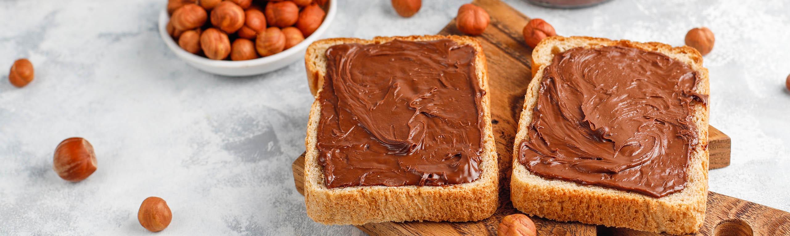 Produkte großer Marken wie Ferrero Nutella